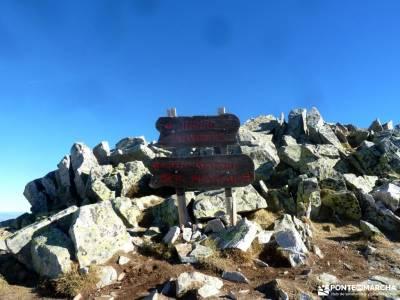 Peña Citores-Cumbres y Lagunas Peñalara; club alpinismo madrid mochilas para camping puente chico